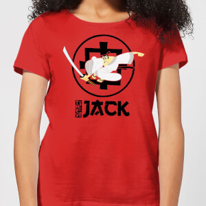 Samurai Jack They Call Me Jack Women's T-Shirt - Red