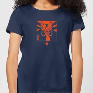 Samurai Jack Aku Kanji Women's T-Shirt - Navy