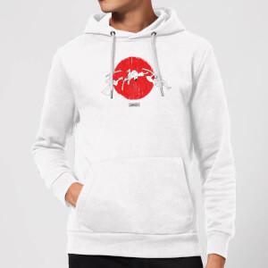 Samurai Jack Sunrise Hoodie - White