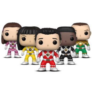 Funko Pop! Vinyl Power Rangers Bundle - 5 Pack