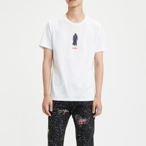 Levi's X Star Wars Men's Graphic Short Sleeve T-Shirt - Vader White