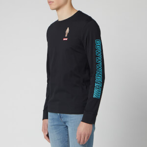 Levi's X Star Wars Men's Long Sleeve Graphic T-Shirt - Black