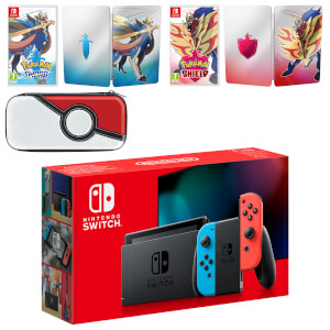 Nintendo Switch Pokémon Sword and Pokémon Shield Double Pack
