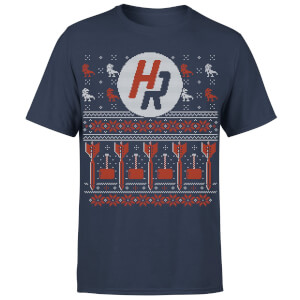 How Ridiculous Ugly Holiday Christmas Men's T-Shirt - Navy