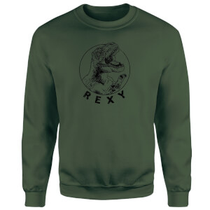 How Ridiculous Rexy Sweatshirt - Forest Green