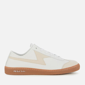 PS Paul Smith Men's Ziggy Leather Cupsole Trainers - White