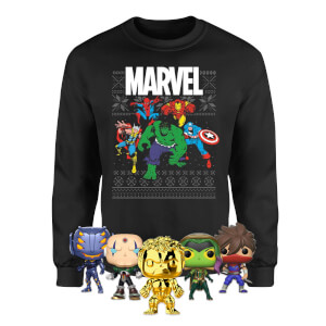 Marvel Mega Christmas Sweatshirt Bundle