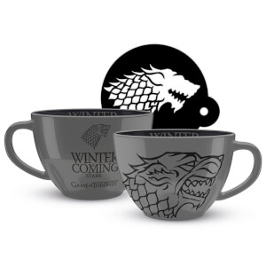 Game of Thrones (Stark) Cappuccino Mug