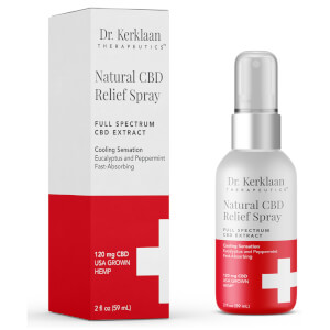 Dr Kerklaan Natural CBD Relief Spray 2 oz