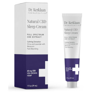 Dr Kerklaan Natural CBD Sleep Cream 1 oz