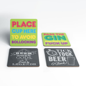 Rude Coaster Set