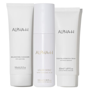 Alpha-H Cleanse, Resurface and Hydrate (Worth $155.85)