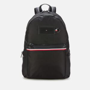 Tommy Hilfiger Men's Nylon Backpack - Black