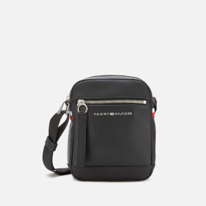 Tommy Hilfiger Men's Metro Mini Reporter Bag - Black