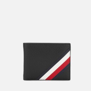 Tommy Hilfiger Men's Downtown Mini Credit Card Wallet - Black