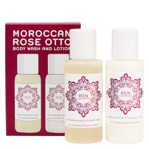 Ren Moroccan Rose Mini Body Duo Kit