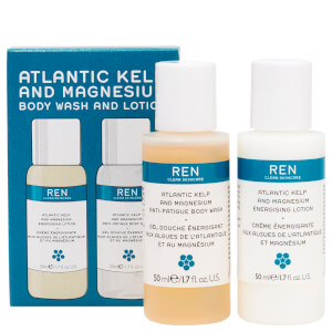 REN Clean Skincare Atlantic Kelp Mini Body Duo Kit