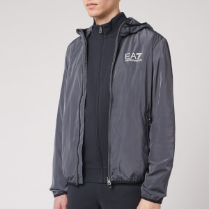 Emporio Armani EA7 Men's Full Zip Hoody - Iron Gate