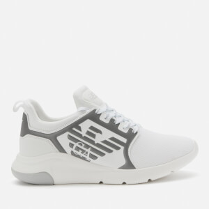 Emporio Armani EA7 Men's Eagle Logo Runner Trainers - White