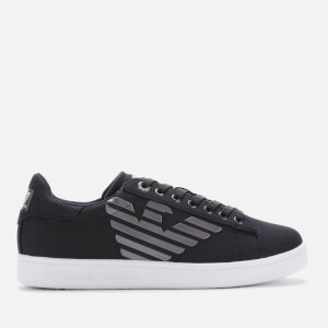 Emporio Armani EA7 Men's Court Trainers - Black