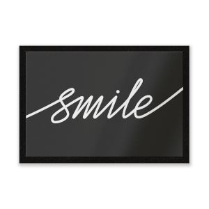 Smile Entrance Mat