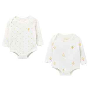 Joules Baby The Bodysuit - White Duck (2 Pack)
