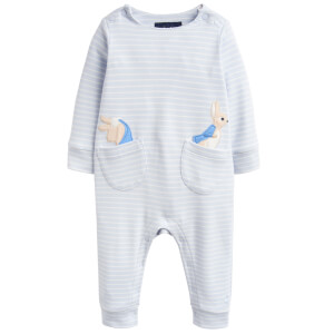 Joules Baby Gracie Official Peter Rabbit Collection Applique Babygrow