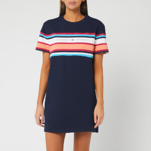 Tommy Jeans Women's TJW Logo T-Shirt Dress - Twilight Navy