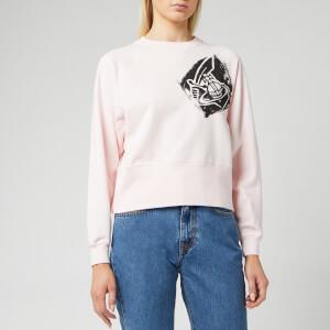 Vivienne Westwood Women's Long Sleeve Athletic Sweatshirt - Pink