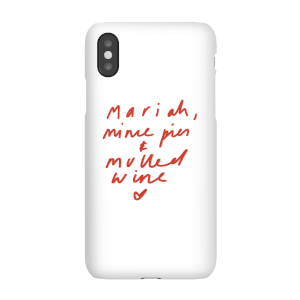 Mariah, Mince Pies & Mulled Wine Phone Case for iPhone and Android