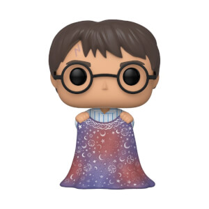 Figurine Pop! Harry Potter Avec Cape D'invisibilité