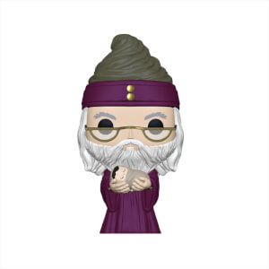 Harry Potter - Dumbledore mit Baby Harry Pop! Vinyl Figur