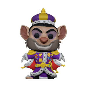 Figurine Pop! Ratigan - Basil, Détective Privé - Disney