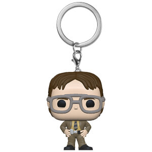 The Office Dwight Schrute Pocket Funko Pop! Keychain