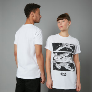 The Rise of Skywalker Resistance Ships Unisex T-Shirt - White