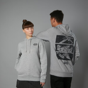 Sudadera capucha The Rise of Skywalker Resistance Attack - Unisex - Gris