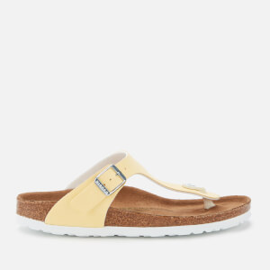 Birkenstock Women's Gizeh Vegan Toe-Post Sandals - Vanilla