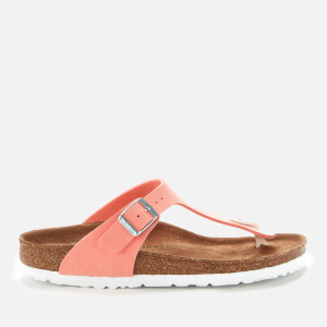 Birkenstock Women's Gizeh Vegan Toe-Post Sandals - Flamingo