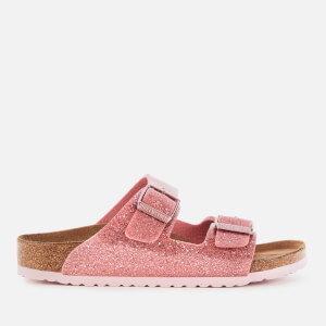 Birkenstock Kids' Arizona Double Strap Sandals - Cosmic Sparkle Old Rose
