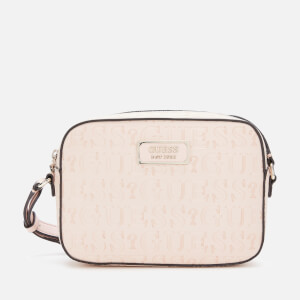 Guess Women's Kamryn Cross Body Bag Top Zip - Peach