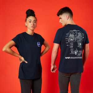 NASA Suit Up Unisex T-Shirt - Navy