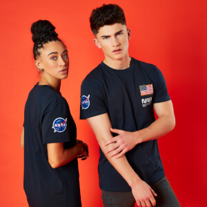 Camiseta NASA Base Camp - Unisex - Azul marino
