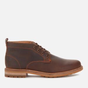 Clarks Men's Foxwell Mid Leather Chukka Boots - Beeswax