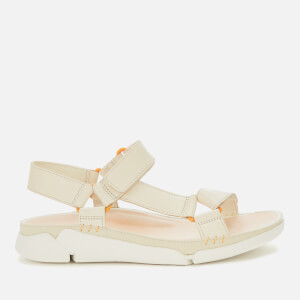 Clarks Women's Tri Sporty Sandals - White