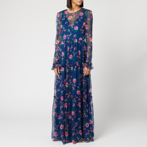 Philosophy di Lorenzo Serafini Women's Floral Print Maxi Dress - Blue