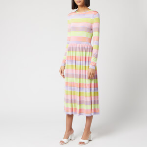 Stine Goya Women's Joel Stripe Midi Dress - Multi