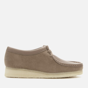 Clarks Originals Women's Wallabee Suede Shoes - Mushroom