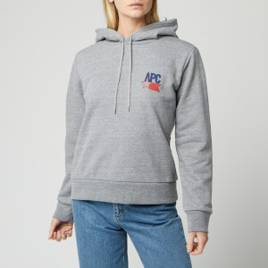 A.P.C. Women's Polonius Hoody - Grey