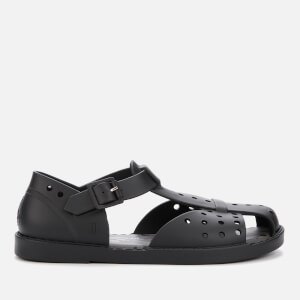 Vivienne Westwood for Melissa Women's Abaya Flat Sandals - Black Matt