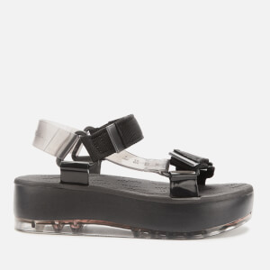Rider for Melissa Women's Papete Flatform Sandals - Black Smoke